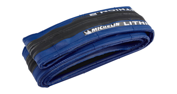 "Michelin Lithion 2 - Pneu - 28"" bleu"